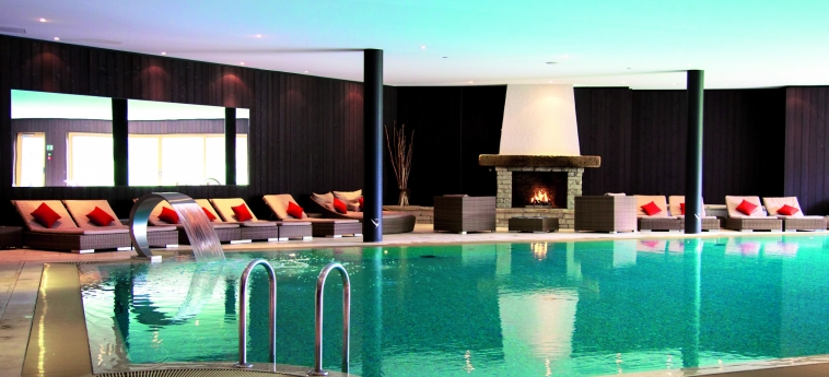 Chalet Royalp Hotel & Spa: Innenschwimmbad VILLARS-SUR-OLLON