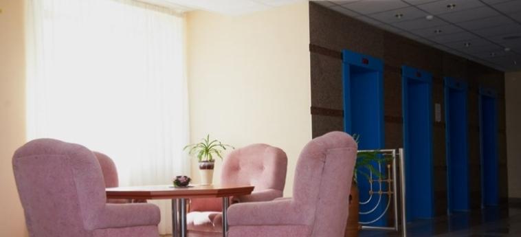 Hotel Luchesa: Corridor VITEBSK