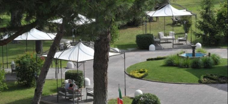 Grand Hotel Terme Salus: Garden VITERBO