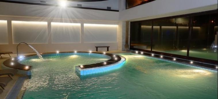 Grand Hotel Terme Salus: Indoor Swimmingpool VITERBO