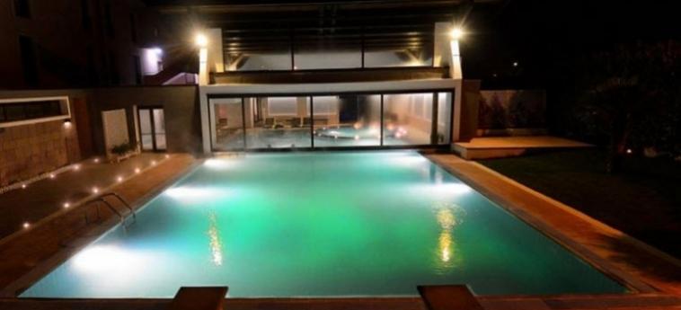 Grand Hotel Terme Salus: Outdoor Swimmingpool VITERBO