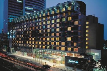 Hotel Radisson Blu Centrum: Außen WARSCHAU