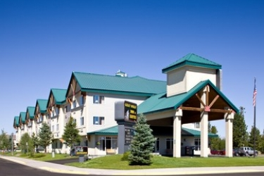 Hotel Gray Wolf Inn At West Yellowstone: Esterno WEST YELLOWSTONE (MT)