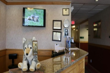 Hotel Gray Wolf Inn At West Yellowstone: Lobby WEST YELLOWSTONE (MT)