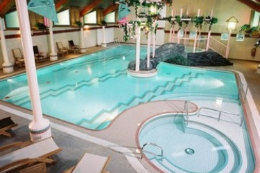 Hotel Low Wood Bay: Outdoor Swimmingpool WINDERMERE
