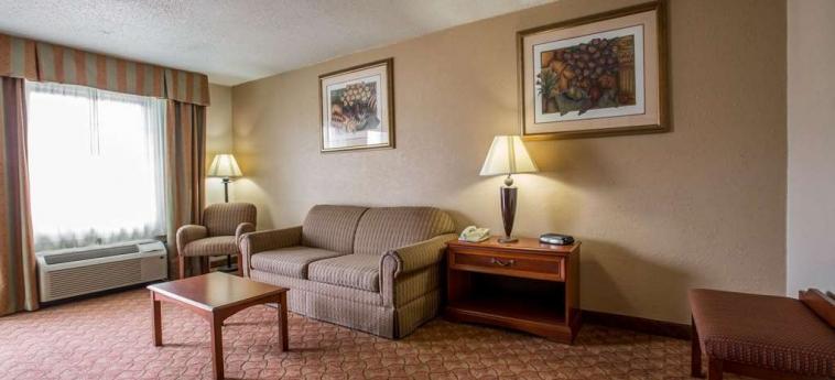 Hotel Quality Inn & Suites: Habitacion Suite WINSTON SALEM (NC)