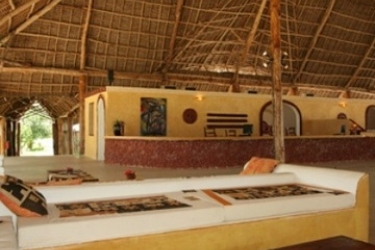 Hotel Ora Marumbi Beach: Lobby ZANZIBAR