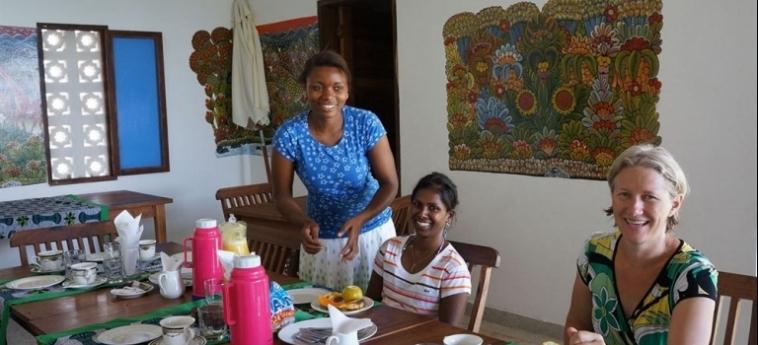 Arthotel Zanzibar: Breakfast Room ZANZIBAR