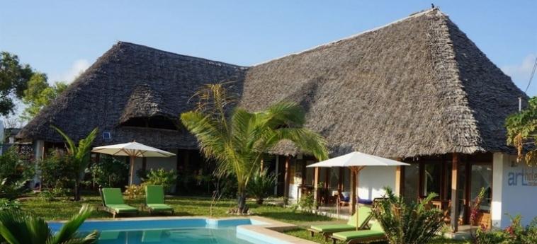 Arthotel Zanzibar: Hotel Position ZANZIBAR