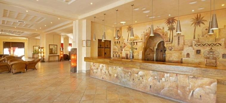 Hotel Vincci Safira Palms: Reception ZARZIS