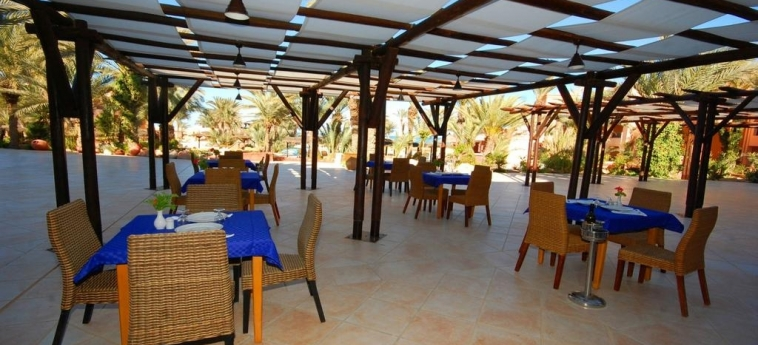 Hotel Vincci Safira Palms: Outdoor Restaurant ZARZIS