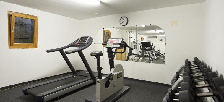 Hotel Jaegerhof: Fitnessraum ZERMATT