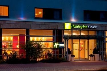 Hotel Holiday Inn Express Affoltern Am Albis: Hotel Front - Evening/Night ZURICH