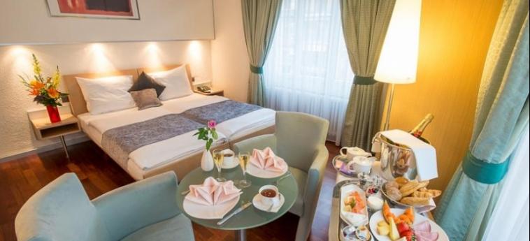 Hotel Krone Unterstrass: Chambre Double ZURICH