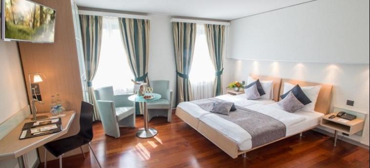 Hotel Krone Unterstrass: Chambre ZURICH