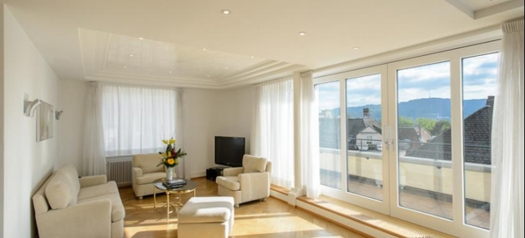 Hotel Krone Unterstrass: Living Room ZURICH