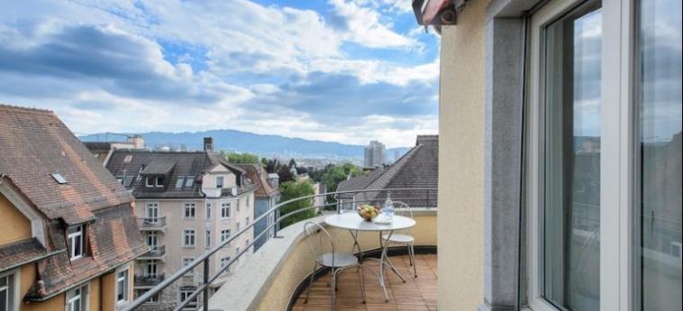 Hotel Krone Unterstrass: Terrasse ZURICH