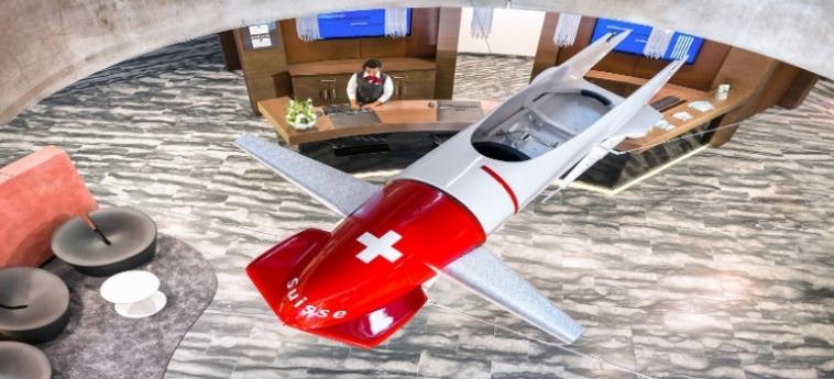 Dorint Airport Hotel Zurich: Interior ZURIGO