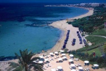 Hotel Grecian Sands: Strand ZYPERN